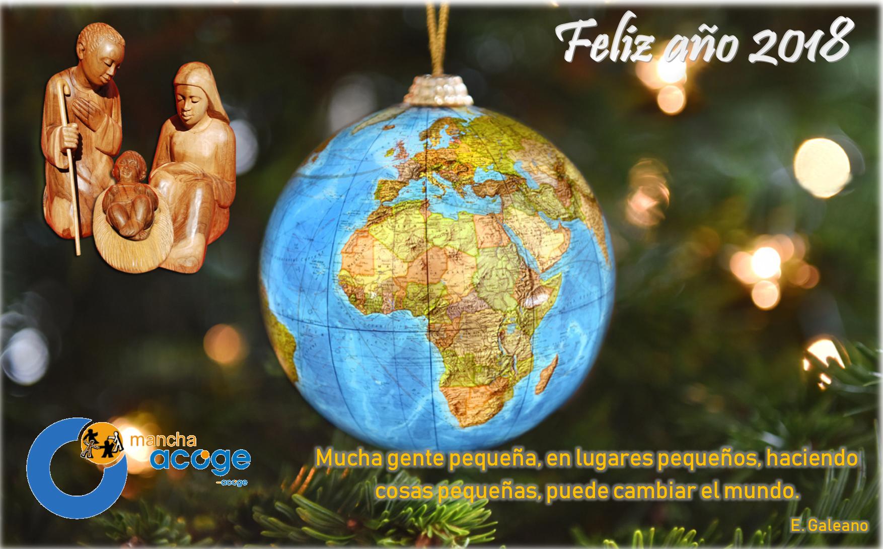 Gente Feliz En Navidad.Mancha Acoge Os Desea Feliz Navidad Y Feliz 2018 Mancha Acoge